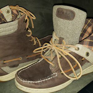Sperry TopSider Women Brown Hikerfish Ankle